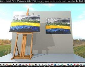 3D asset Oil Painting - Mist Foehr