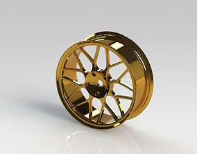 3D rigged wheel