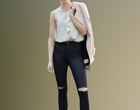 3D model Myriam 10123 - Casual Standing Woman