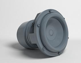 subwoofer for 3D print