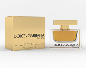 3D model Dolce and Gabbana The One Perfume for Women
