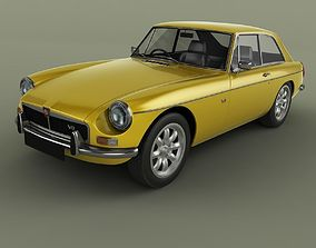 MG MGB GT V8 Coupe 3D