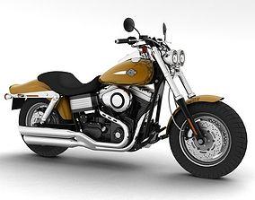 3D model Harley-Davidson FXDF Fat Bob 2013