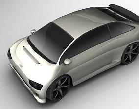 A Hybrid Concept Google Car AAA 3D model