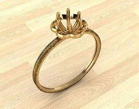 Engagement Ring 3 3D print model