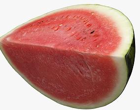 sliced Watermelon 3D model
