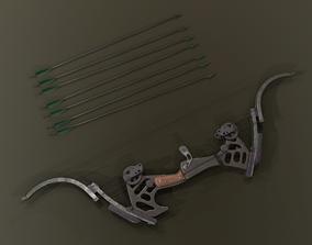 Oneida Kestrel - bow and arrow 3D