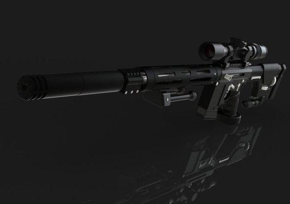 AR-15 Sniper Rifle