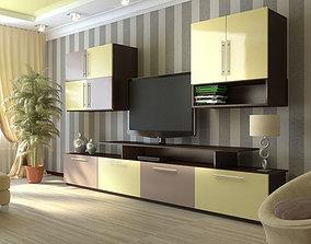 3D model of the living room