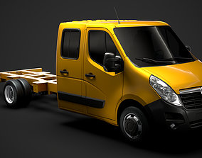 Opel Movano CrewCab DW E30 Chassis 2014 3D model