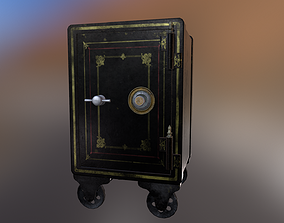 3D asset Antique Safe