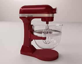 Mixer 3D model dough