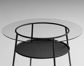 alsta table 3D model game-ready