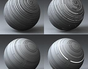 Syfy Displacement Shader F 001 j 3D model