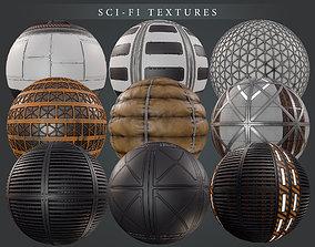 3D Sci Fi PBR Texture pack