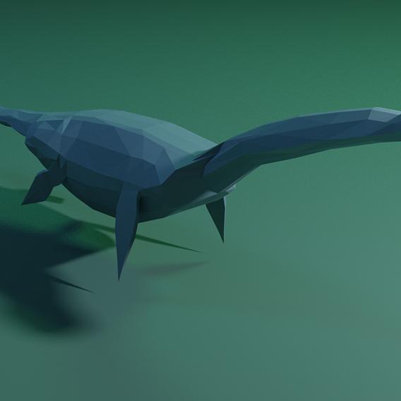Low poly Dinosaur