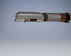 3D printable model Galen Marek Styed Lightsaber