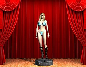Madonna Pose by Space 3D for 3DPrinter
