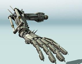 Rigged Robot Arms 3D asset