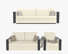 Armani Raphael Sofa Collection 3D
