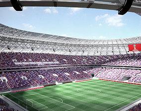 3D Luzhniki Stadium Moscow