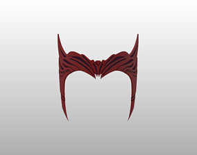 3D print model Scarlet Witch Crown Headpiece Finale 3
