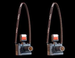 SLR Camera - PBR Game Ready 3D asset