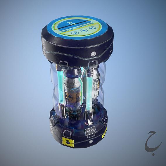 Sci-fi grenade
