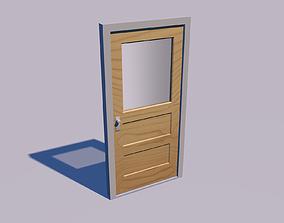 3D model furniture Wooden door