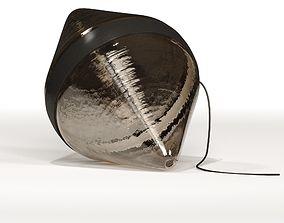 3D Hollow floor Glass Sculpture