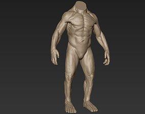 3D model Creature Body Sculpt 12