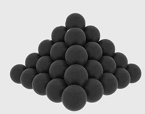 Cannonball 3D model