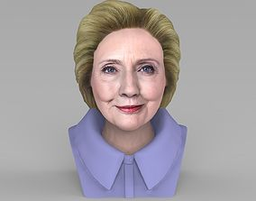 Hillary Clinton bust ready for full color 3D