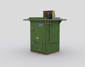 3D model Woodworking machine 2