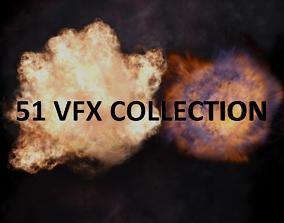 3D asset 51 VFX Collection