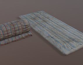 Old mattres 3D asset low-poly