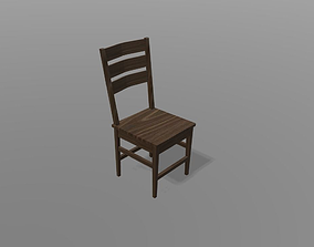 3D asset realtime Simple chair