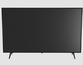 TV LED Low Poly 3D asset