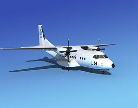 Casa CN-235 UN 3D