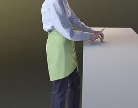 3D model Ulrike 10145 - Standing Cook