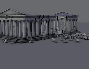 3D model Athens Parthenon
