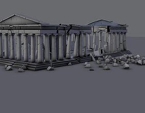 3D model Athens Parthenon