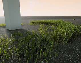 Foliage Essentials 1 - Grass Green Pack 3D model