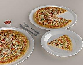Pizza 01 3D