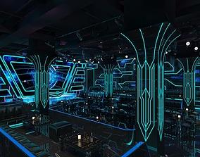 Lounge Night Club 1 3D