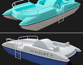 3D model SunLight 5 catamaran