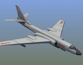 3D model H-6K Bomber