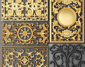 Fretwork SET 3D 12 baroque