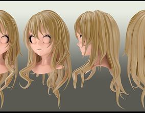 3D kaori miyazono hair style