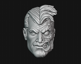 dccomic 3D printable model Two-Face